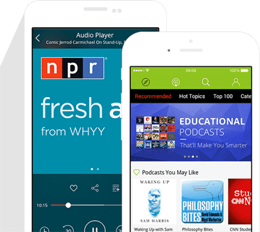 Mobile Podcast Marketing: Podbean iPhone/Android App
