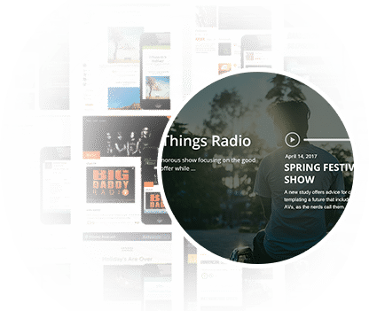 Beautiful Podcast Themes